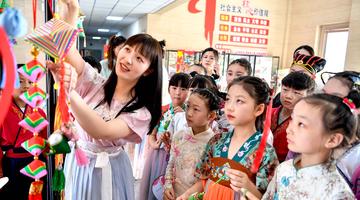 安徽亳州:申博线路检测登入,多彩活动迎端午