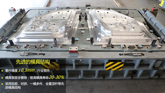 参观宝沃北京密云工厂 智能柔性生产线