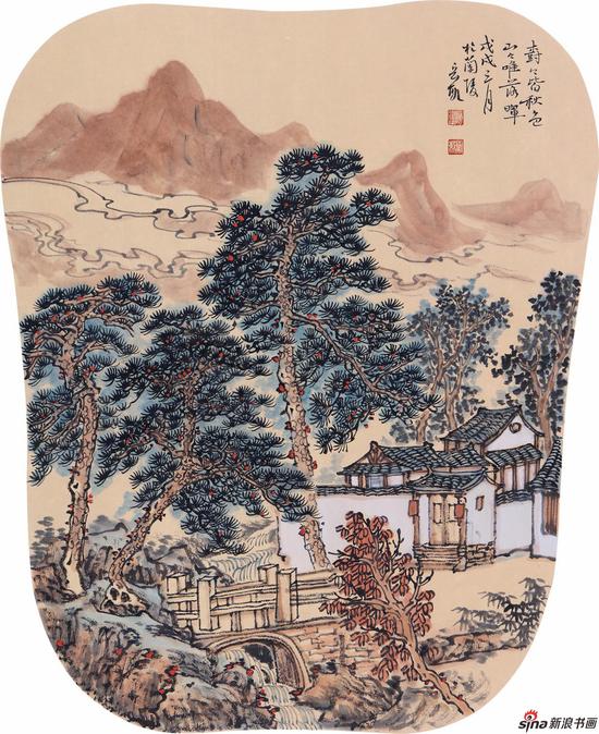 树树皆秋色 50cm×40cm 2018