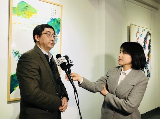北京建筑设计设计院第一设计院院长、画家金卫钧接受采访