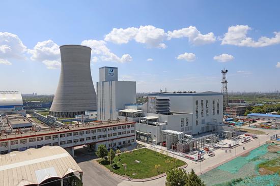 軍糧城電廠650MW燃氣冷卻塔及機組