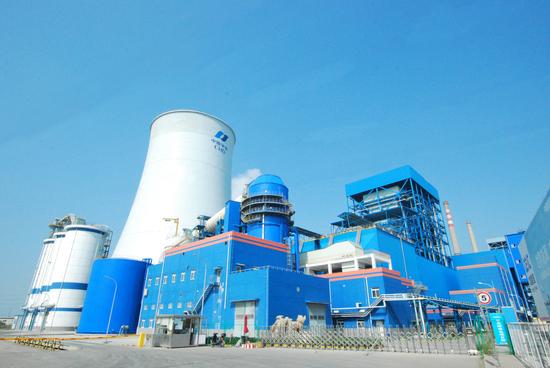 軍糧城電廠350MW燃煤冷卻塔及機組