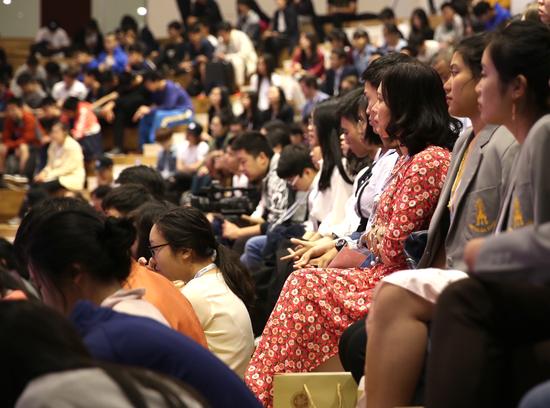 2018一带一路国际青少年峰会在北大附中开幕