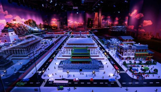北京乐高探索中心迷你天地主题区盛大揭幕
