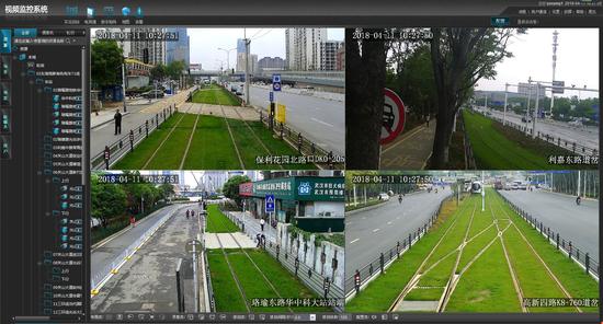 视频监控系统工作平台监控界面