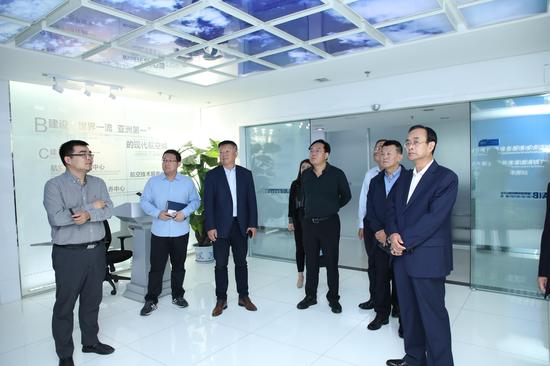 廊坊代表团赴西安阎良国家航空高技术产业基地考察洽谈