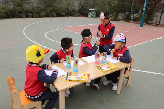 """爱护眼睛 从我做起--林景幼儿园举办""""保护眼睛""""主题升旗活动"""