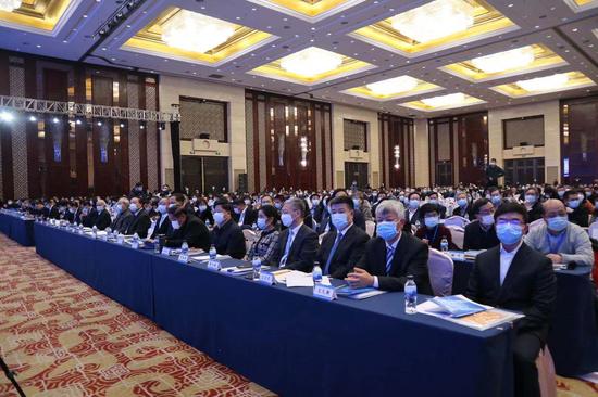 2020中国纺织大会现场  摄影:王雅彬
