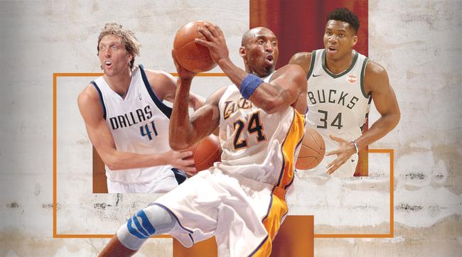 美媒评过去10年NBA最佳阵容三阵:科比韦德领衔