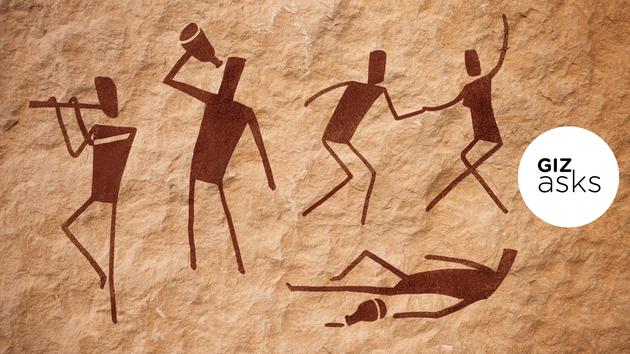 """虽然考古学家发现青铜器时期一些不同造型的饮酒器皿,但是一种被称为""""depasamphikypellon""""的器皿是古代人类共同饮酒的最好证据。"""