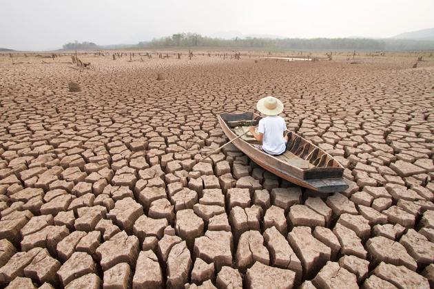 气候变更使得干旱变得加倍严重,专家最新研究称,地球高温气候在汗青上处于振荡周期变更,大年夜约2.52亿年前地球气温降低了10摄氏度,95%陆地生物和70%陆地生物灭尽消掉。