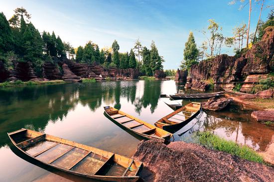 红石林国家地质公园