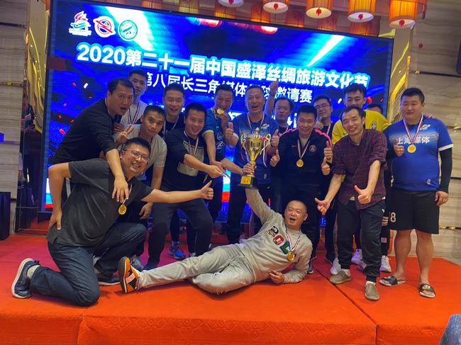 盛泽小镇迎来了长三角媒体足球邀请赛的举办